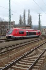 br-641/11382/der-walfisch-641-031-faehrt-am Der Walfisch 641 031 fährt am 31.1.09 von Saalfeld nach Arnstadt.