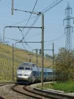 tgv/15544/tgv-nach-nice-bei-russin-am TGV nach Nice bei Russin am 1. Mai 2009